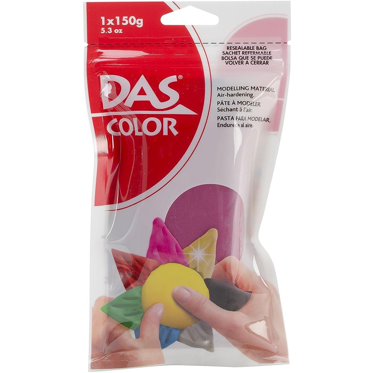 必需品レッスン指Das 色空気乾燥粘土 5.3 オンス マゼンタ
