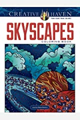 Creative Haven SkyScapes Coloring Book Paperback