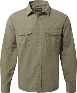 Craghoppers Kiwi Long Sleeved Camisa, Hombre