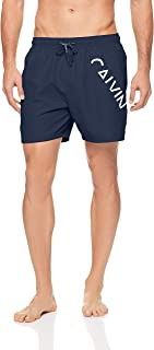 Calvin Klein Men's Core Diagonal Logo Swim Shorts