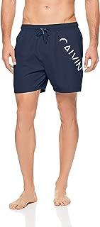 Calvin Klein Men's Core Diagonal Logo Swim Shorts