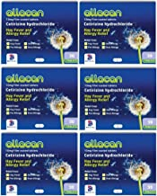 6 Months Supply Allacan Cetirizine Hayfever Allergy Tablets