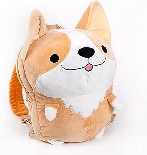 Smoko Cute Milo Plush Corgi Backpack