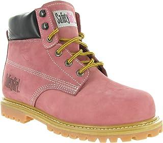 Ladies 4959 Unisex Totectors Lace Up Leather Steel Toe Cap Work Shoes