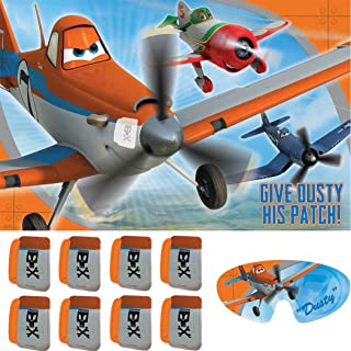 Amscan Dusty Planes Party Game, for 2-8 Players