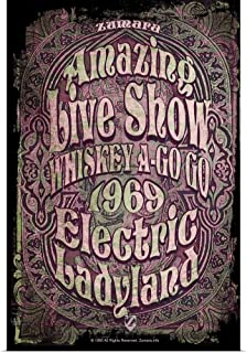 GREATBIGCANVAS Poster Print Electric Ladyland - Whiskey A-Go Go by 12