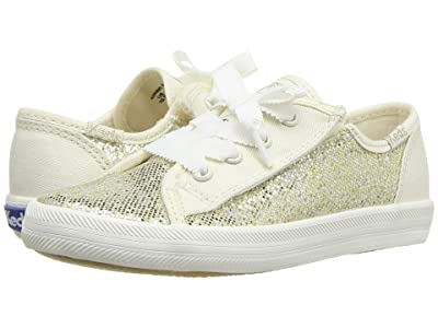 Keds Kids Kickstart Seasonal (Toddler/Little Kid) (Metallic Sparkle) Girl