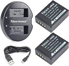 Newmowa NP-W126 Batería de Repuesto (2-Pack) y Kit de Cargador Doble para Fujifilm NP-W126 NP-W126S Fuji FinePix HS30EXR, HS33EXR, HS50EXR, X-A1, X-E1, X-E2, X-M1, X-Pro1,X-T1,X-T2,X-H1