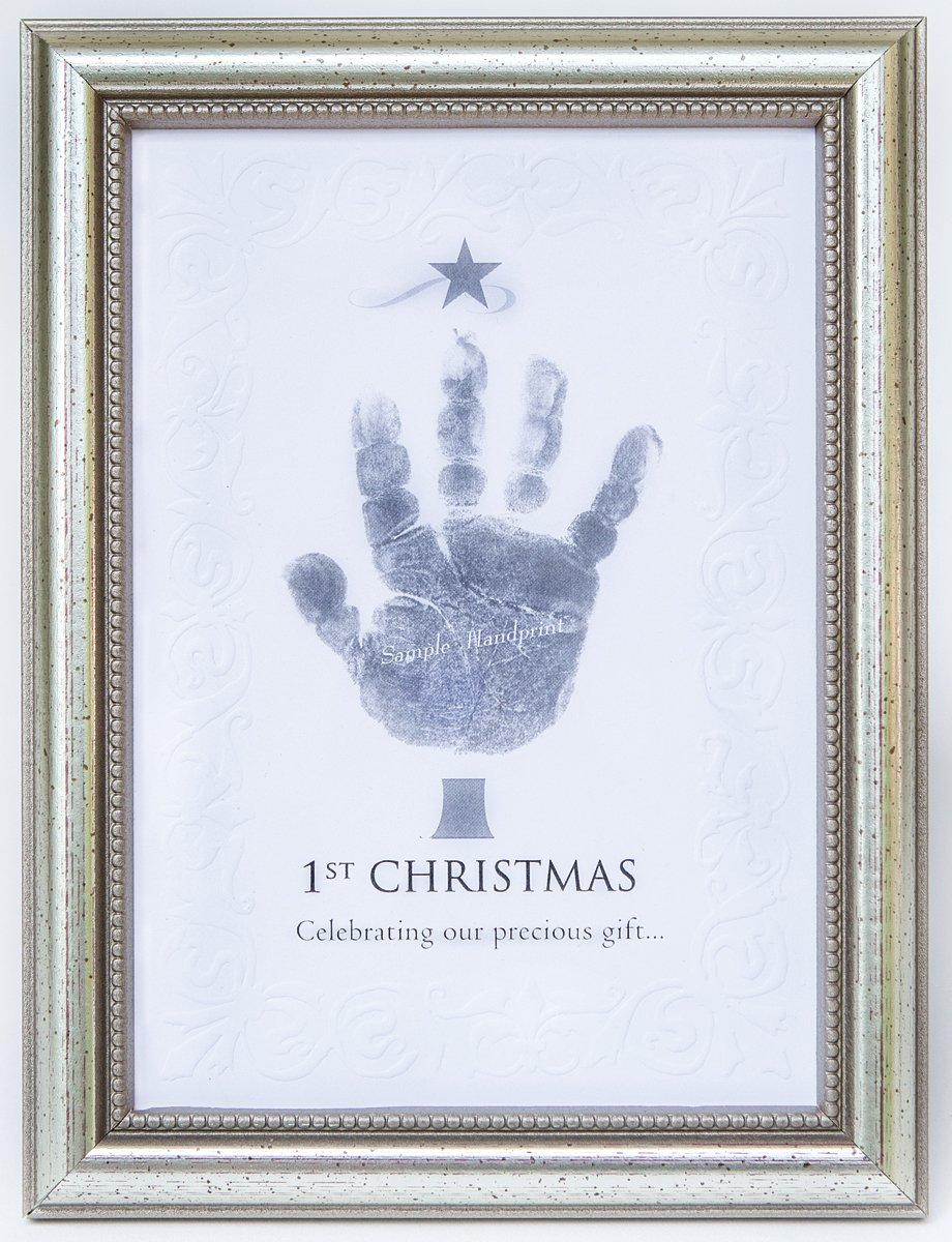 The Grandparent Gift Frame Wall Baby's Mail order Décor Fr First Christmas Direct stock discount