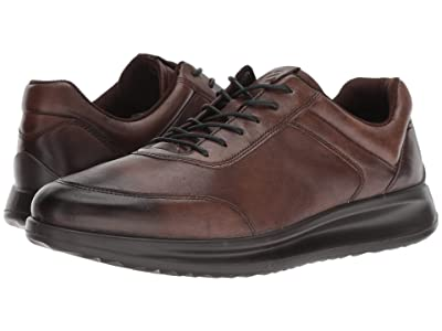 ECCO Aquet Sneaker (Cocoa Brown) Men