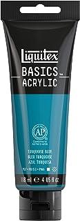 Liquitex BASICS Acrylic Paint, 4-oz tube, Turquoise Blue