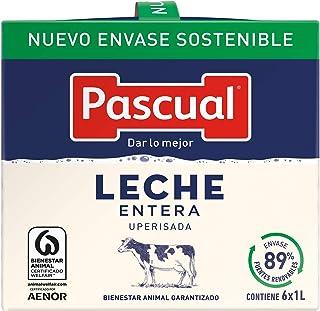 Leche Pascual Clásica Leche Entera - Pack de 6 x 1 l -