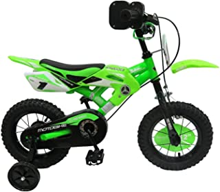 Motorcycle RC Toys	- green and black