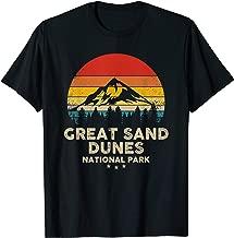 Great Sand Dunes - National Park Retro Souvenir T-Shirt