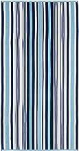 مجموعة مناشف الشاطئ من قطعتين كبيرة الحجم من القطن المنسوج من سوبر رويالتون، مقاس 86.36 سم × 162.56 سم، أزرق سماوي