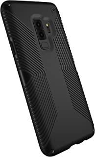 Speck Presidio Grip Samsung Galaxy S9 Plus Case, Black/Black - 109513-1050