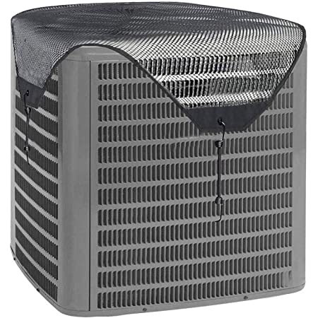 Details about  /Air Conditioner Cover Outdoor Protective Cover Case Dust Net Cooling Fan Cover