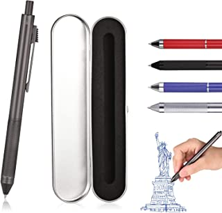 SMTTW 4 in 1 Multicolor Pen, Multi Colored Pens in One, Four Color Pen With Metal Gift..