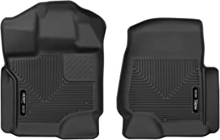 Husky Liners 53361 Floor Liners - Front Black Fits 2017-19 Ford F-250/F-350 Crew Cab/SuperCab