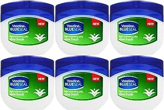 Vaseline Light Hydrating Jelly Aloe Fresh 50 Ml / 1.7 Oz (Pack of 6)
