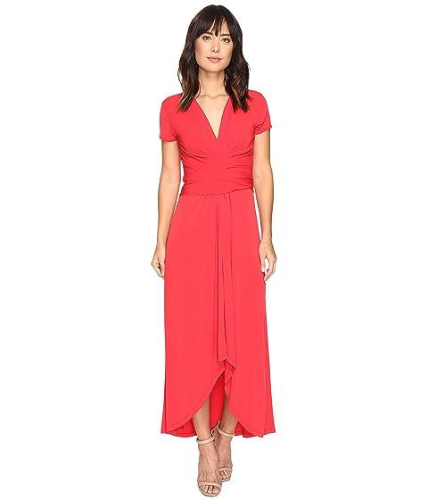 Michael Michael Kors Short Sleeve Maxi Wrap Dress At Zappos