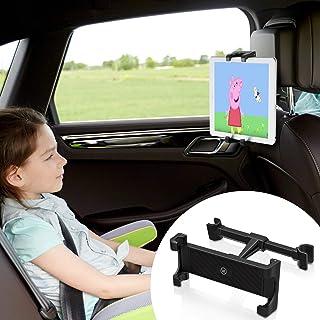 Wicked Chili Tablet Halterung Auto für Kopfstützen, kompatibel mit iPad, Switch, Samsung Tab, Media Pad Tablethalterung KFZ iPad Autohalterung (14 28cm, 6 13 Zoll, vibrationsfrei, Hoch Querformat)