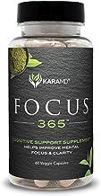 KaraMD Focus 365 | Doctor Formulated Natural & Non-GMO Enhanced Brain Support & Cognition Supplement for Men & Women | Neu...