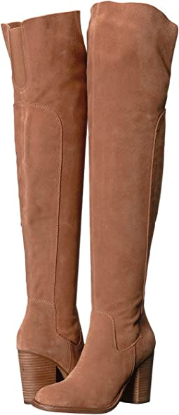 73773d96442 Chestnut. 250. Kelsi Dagger Brooklyn. Logan Over the Knee Boot