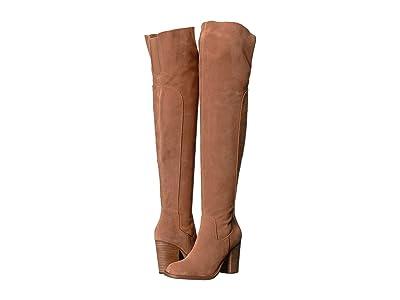 Kelsi Dagger Brooklyn Logan Over the Knee Boot (Chestnut) Women