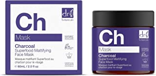 The Apothecary Collection by Dr Botanicals Charcoal Superfood Mattifying Face Mask (60 ml / 2.02 fl oz)