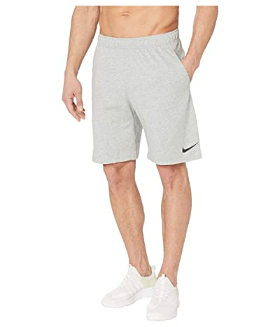 Nike Dri-FIT Training Shorts (Dark Grey Heather/Black) Men