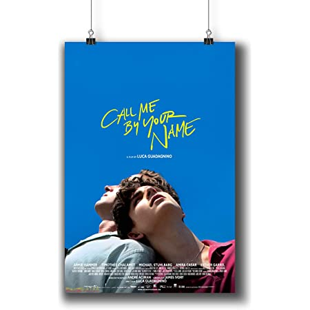 """Call Me By Your Name Luca Guadagnino Movie Poster Art Print 13x20/"""" 24x36/"""" 27x40"""