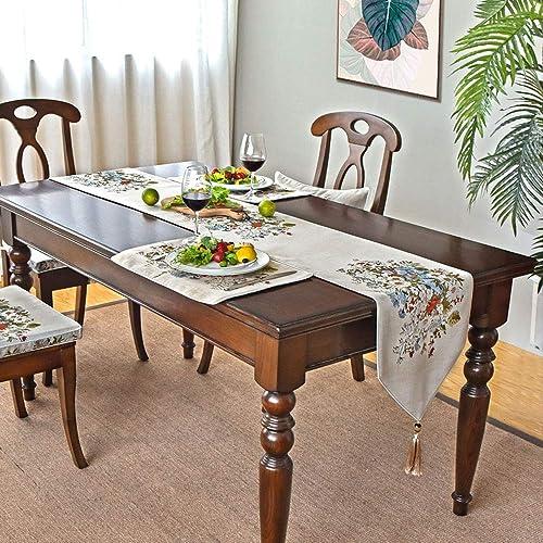 buen precio Byx- Byx- Byx- Table Runners - American Table Flag Coffee Table Flag Minimalist Modern Table Table European Luxury High-End Jacquard Bed Flag Bed Towel (azul, Champagne) - Camino de Mesa  punto de venta en línea