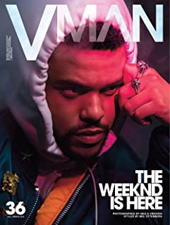 VMan Magazine Issue #36 (Fall/Winter, 2016) The Weeknd Cover