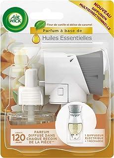 Air Wick Désodorisant Maison Diffuseur Electrique Vanille/Caramel 19 ml