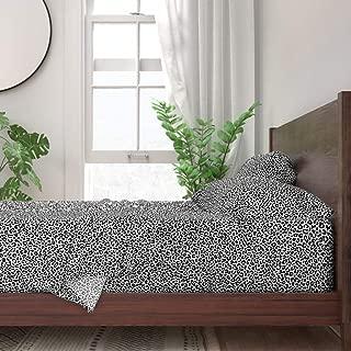 white leopard sheets
