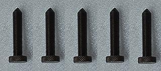 """OMEX - Vestidor de piedra de diamante (5 unidades, 3/8"""" x 2-3/8"""" – rosca de 24 NF, color negro y plateado, SIOUX"""