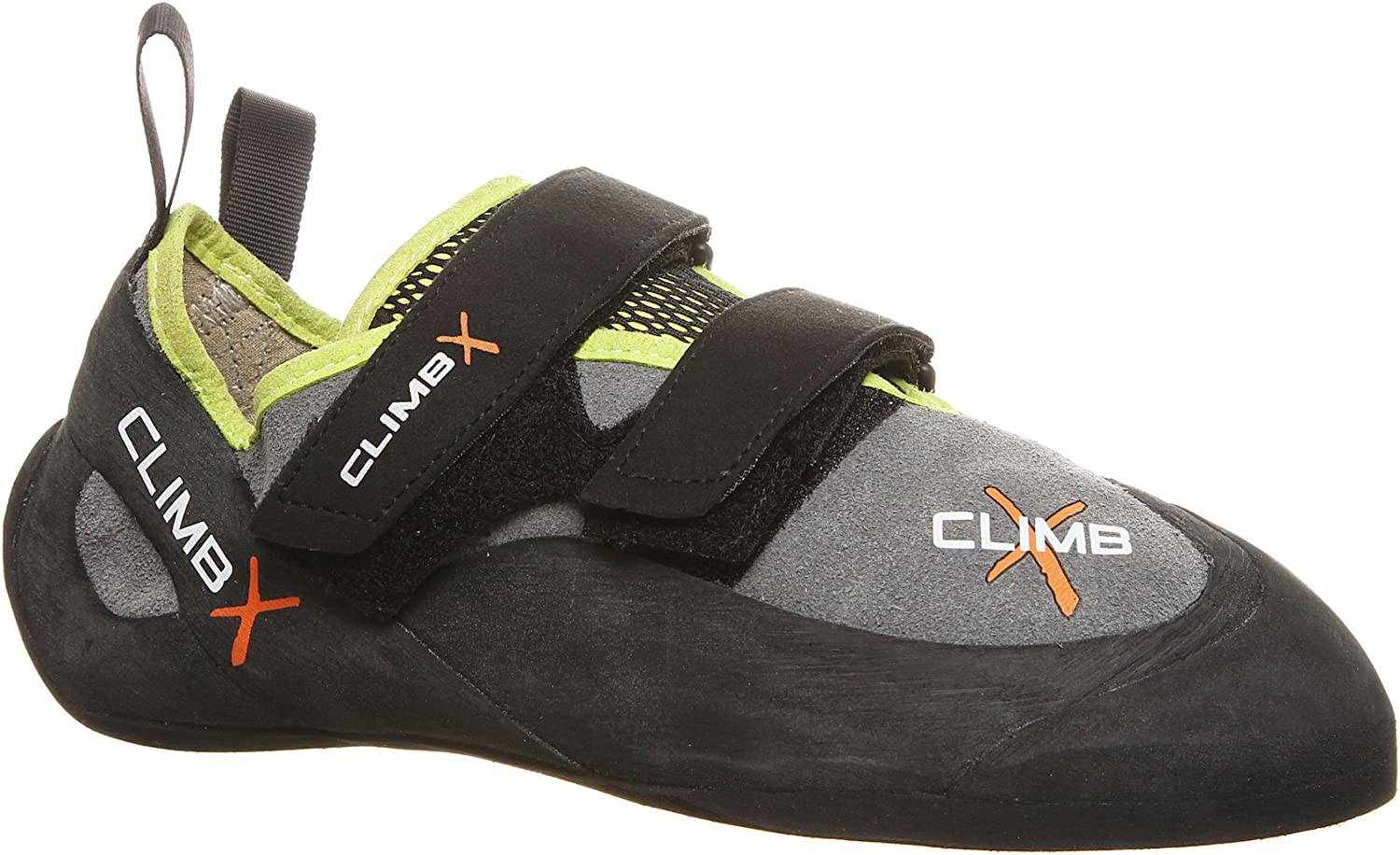 Climb X Rave Trainer Climbing shoes with Free Sickle M-16 Climbing Brush