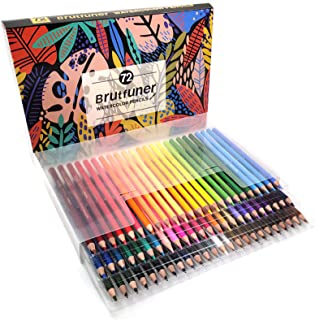 Seeyo 48/72/120/150/180 Watercolor Pencils Set Pre-Sharpened Water Soluble Color Pencils Art Supplies for Students Adults ...