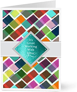 Hallmark Employee Recognition Cards (Great Working With You) (Pack of 25 Greeting Cards for Business)