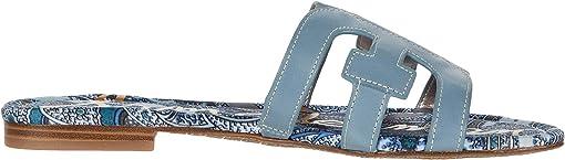 Smokey Blue Vaquero Saddle Leather