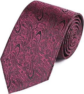 DIEBELLAU Men's Formal Business 8CM Work tie Black Professional Groom Wedding tie (Color : 8)