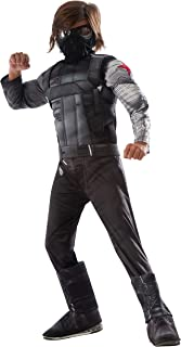 Rubie's Captain America: Civil War Winter Soldier Deluxe Muscle Chest Child, M