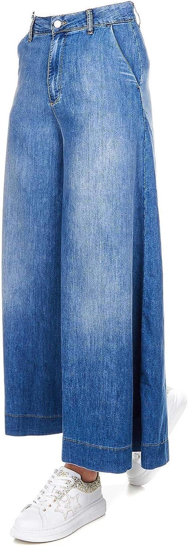 Kaos Women's LP3DC010VU bluee Cotton Jeans