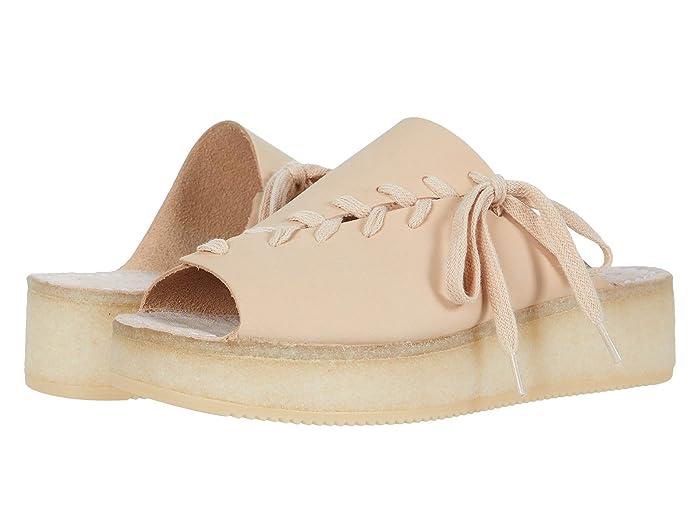 Clarks  Wallacraft Open (Light Pink Nubuck) Womens Shoes