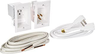 PowerBridge Solutions ONE-PRO-12 Single in-Wall Cable Management for Wall-Mounted TVs, 12' Romex Cable