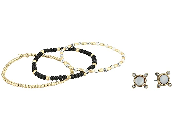 Lucky Brand  Bracelet and Earrings Set (Gold) Jewelry Sets