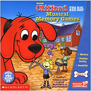 Clifford Musical Memory Games Age Rating:4 -6