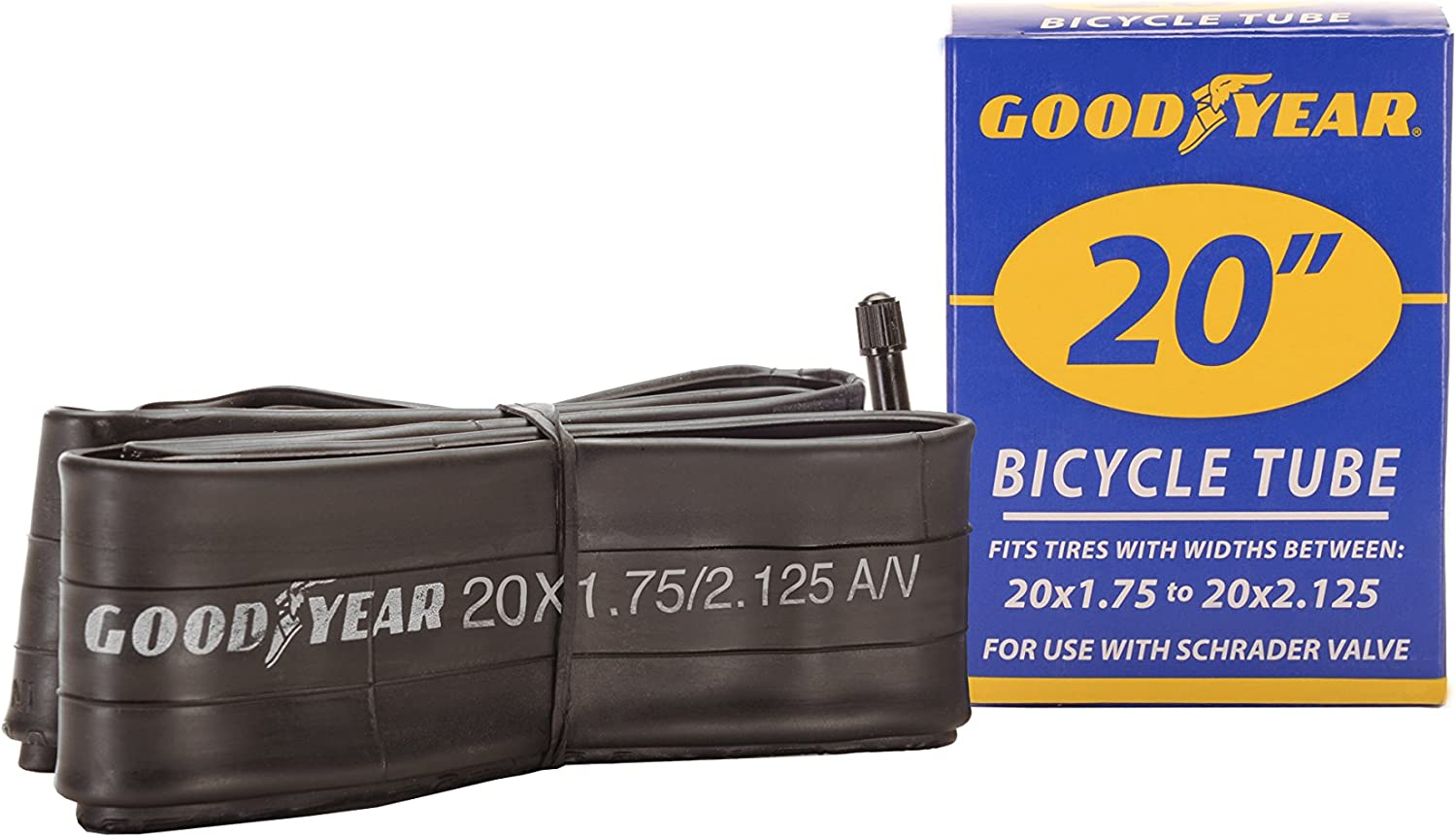 """Goodyear 27.5 inch 1.9 to 2.3 Bicycle Tube 1.75/""""x2.125/"""" NEW Heavy duty"""