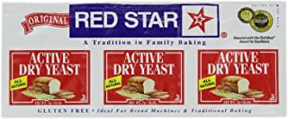 Red Star Yeast Active Dry Env 3pk
